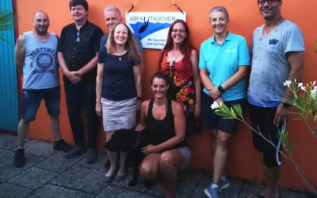 Meeting with Abfalltaucher Switzerland
